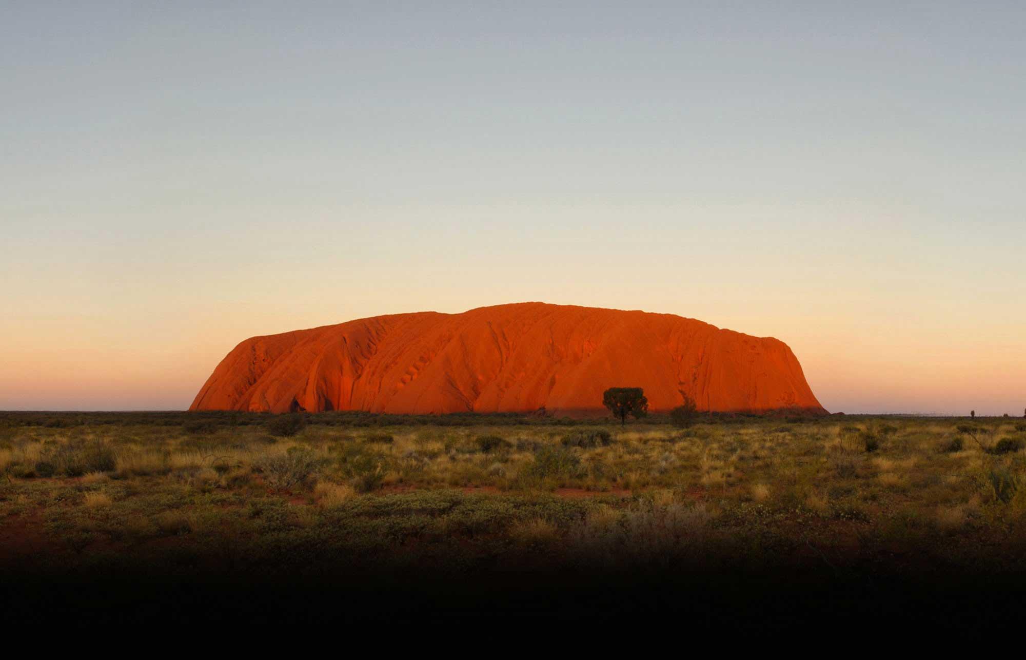 Гора Улуру, Австралия